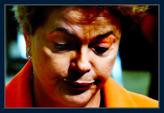 Dilma Rousseff, presidente afastada. Foto Orlando Brito