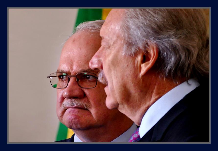 Ministros do Supremo, Edson Fachin e Ricardo Lewandowski. Foto Orlando Brito